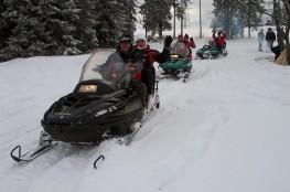 Zakopane Atrakcja Skutery śnieżne Strama